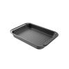 Roasting Pan with Rack-Nonstick Oven Roaster with Removable Grid to Drain Fat and Grease-Healthier Cooking with Kitchen Bakeware by Classic Cuisine