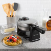 Waffle Iron-Classic 180 Rotation Flip Waffle Maker with Nonstick Plates, Removable Drip Pan, Folding Handle-Kitchen Accessories by Classic Cuisine
