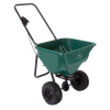 Lawn and Garden Spreader - 66 Pound Capacity Walk Behind Rotary Broadcast Dispenser for Fertilizer, Grass Seed, Sand and Salt by Pure Garden