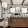 Table and Floor Lamps ? Set of 3 Matching Modern Stacked Balls Lighting Energy-Efficient LED Bulbs Included by Lavish Home