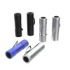 Whetstone 6 Pack Aluminum 9-LED Flashlights with Batteries
