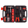 Tool Kit - 125 Heat-Treated Pieces with Carrying Case - Essential Steel Hand Tool and Basic Repair Set for Apartments, Dorm, Homeowners by Stalwart