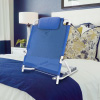 Adjustable Backrest-Reclining Support Wedge Adjusts to 6 Positions for Reading or Relaxing in Bed, Chair, or Couch-Comfort Accessories by Bluestone