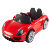 Ride On Sports Car ? Motorized Electric Rechargeable Battery Powered Toy with Remote Control, MP3 and USB, Lights and Sound by Lil? Rider (Red)