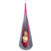 Kids Hammock Pod- Hanging Swing Seat for Children-Sturdy Padded Cocoon Chair for Children?s Playroom, Bedroom, Treehouse or Nook by Hey! Play!