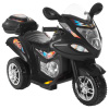 Ride-On Toy Trike Motorcycle ?Battery Operated Electric Tricycle for Toddlers with Built-in Sound and Working Headlights by Lil Rider (Black)