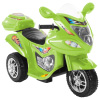 Ride-On Toy Trike Motorcycle ?Battery Operated Electric Tricycle for Toddlers with Built-in Sound and Working Headlights by Lil Rider (Green)