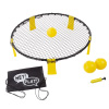 Battle Volleyball ? Outdoor Adjustable Roundnet Tournament Set for Kids and Adults ? Beach, Backyard, Camping and Tailgate Party Game by Hey! Play!