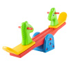 Seesaw ? Teeter Totter Backyard or Playroom Equipment with Easy-Grip Handles for Toddlers and Children ? Indoor or Outdoor Rocker Toy by Hey! Play!