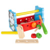 Kids Tool Set ? Wooden Toy Toolbox Playset with Tools for Children and Toddlers ? Mini Pretend Hand Tools ? Fun for Boys and Girls by Hey! Play!