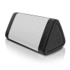 OontZ Angle solo Bluetooth Speaker Surprisingly Loud Bass 100? Wireless Range, IPX-5 Splashproof White with lanyard