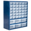 Plastic Storage Drawers ? 42 Compartment Organizer ? Desktop or Wall Mount Container for Hardware, Parts, Crafts, Beads, or Tools by Stalwart