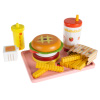 Fast Food Meal Playset ?Kid?s Dinner with Cheeseburger, Drink, Fries, Ketchup & Mustard ? For Pretend & Imagination Fun by Hey! Play!