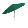 Patio Umbrella with Auto Tilt ? 10 Ft Easy Crank Outdoor Table Umbrella Shade for Deck, Balcony, Porch, Backyard or Pool by Pure Garden (Hunter Green)