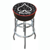 Four Aces Spade Logo Padded Bar Stool