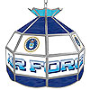 United States Air Force Stained Glass Billiard Lamp - 16 Inch