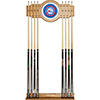 Philadelphia 76ers NBA Billiard Cue Rack with Mirror