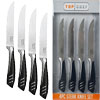 Top Chef 5 inch Stainless Steel Steak Knife Set - 4 Pieces